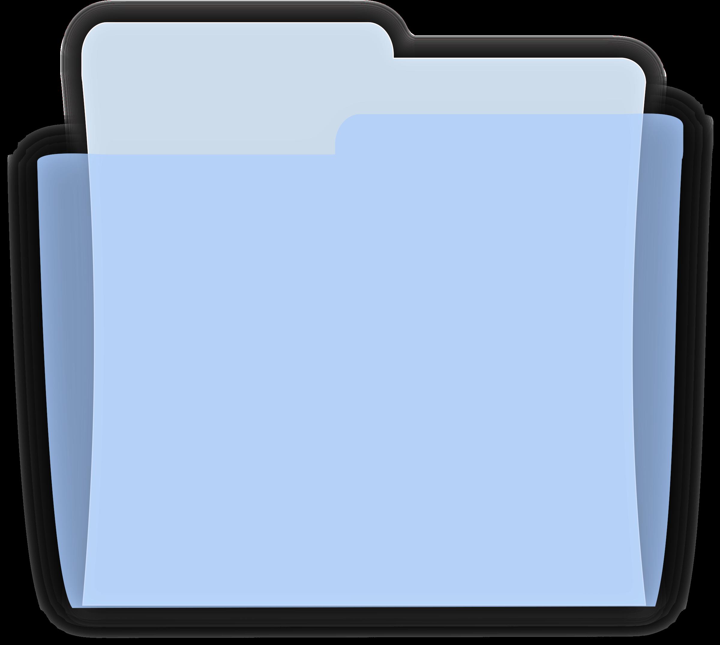 Folder clipart blue folder. Mac icons png free