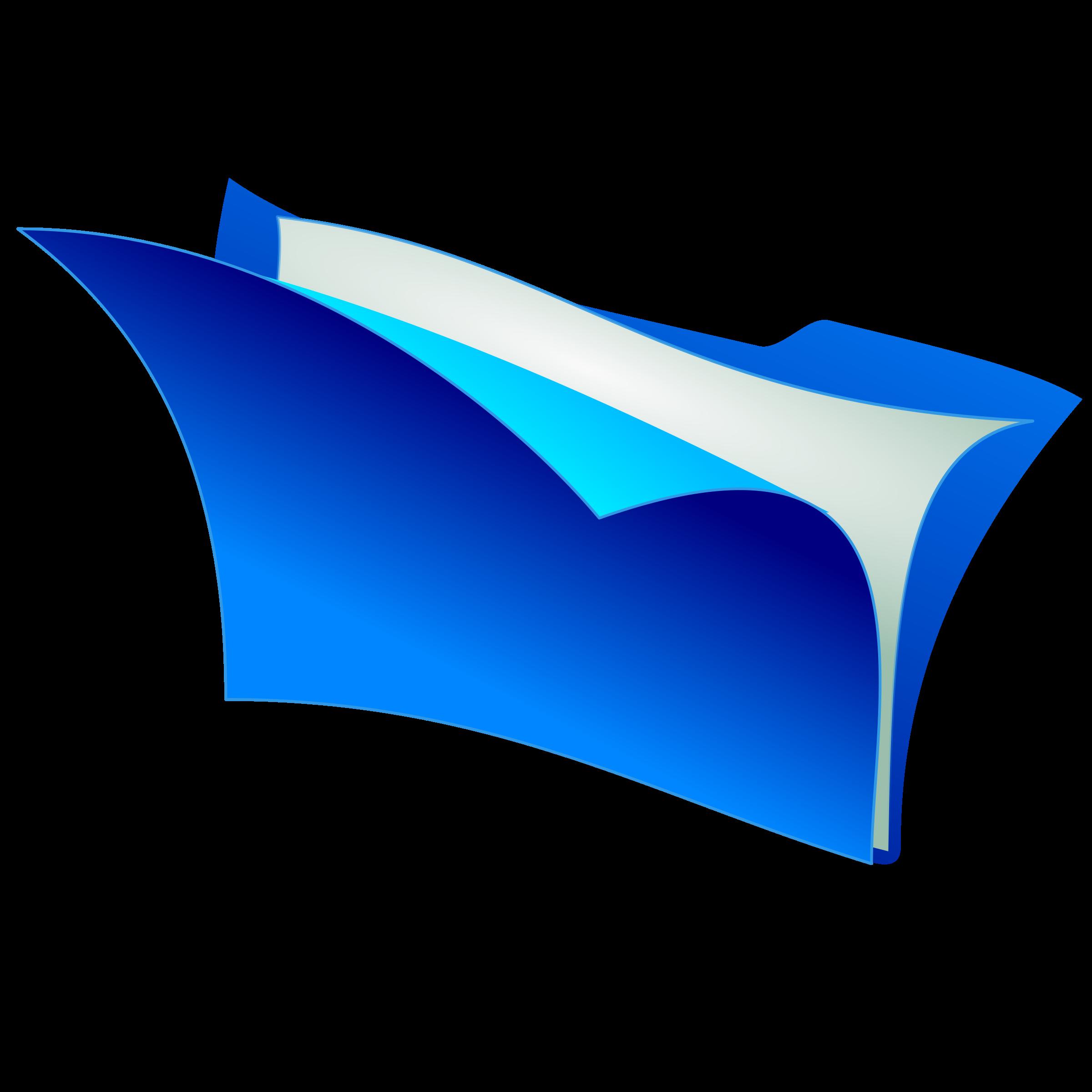 Folder clipart blue folder. Big image png