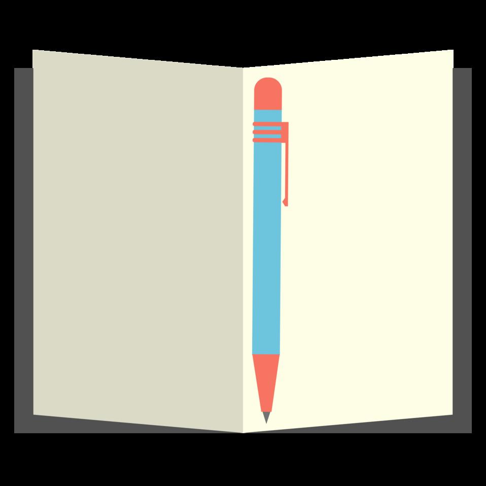notepad clipart editing