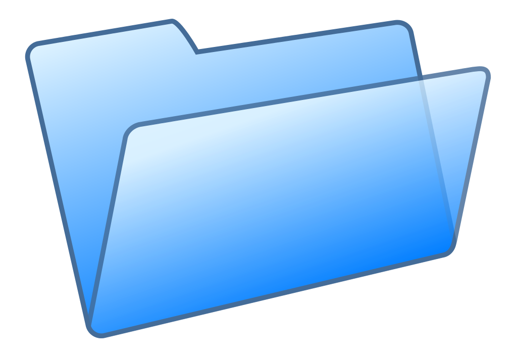 File blue seth yastrov. Folder clipart directory