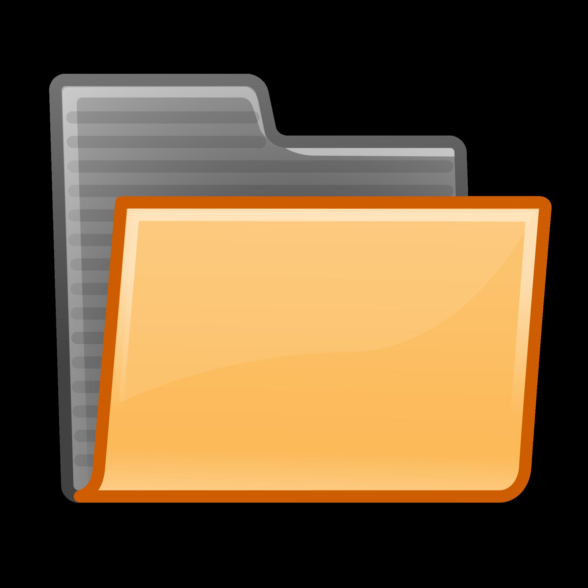 File orange svg wikimedia. Folder clipart documentation