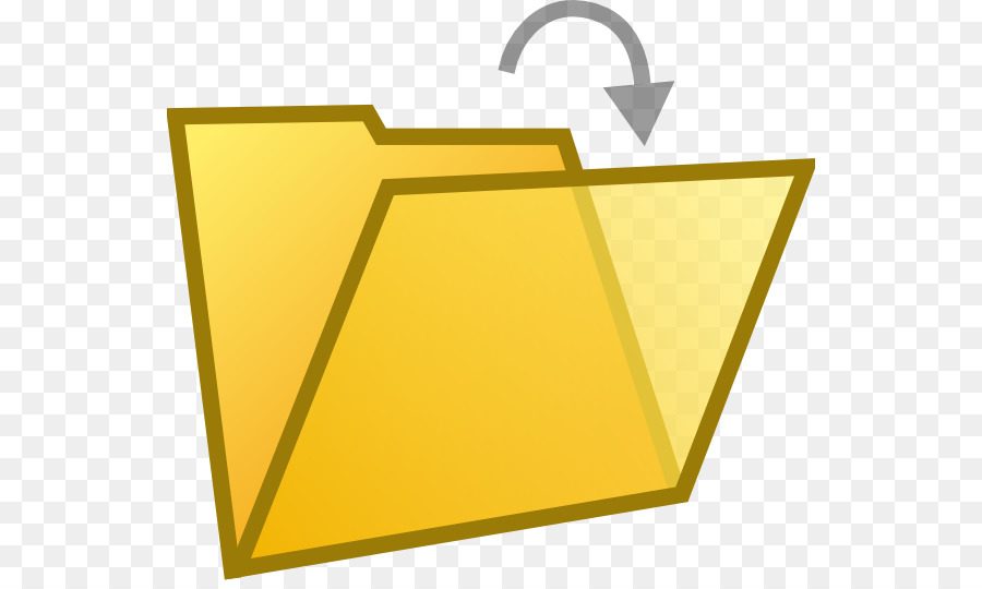 Triangle background png download. Folder clipart documentation