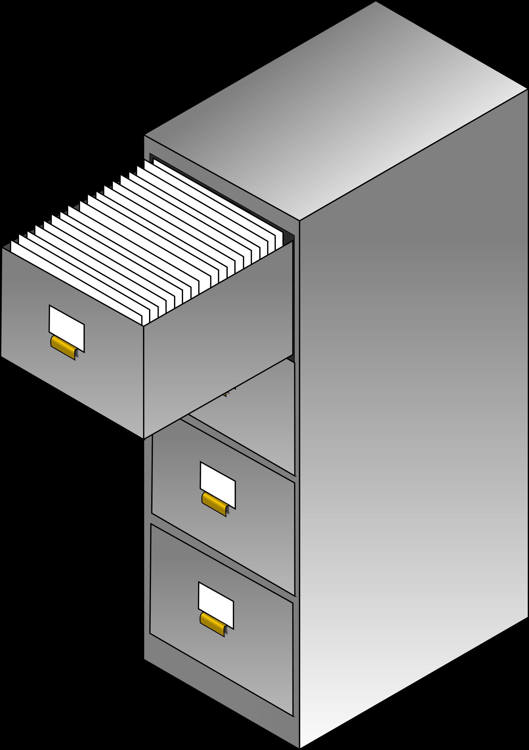 File cabinets clip art. Furniture clipart cabinet