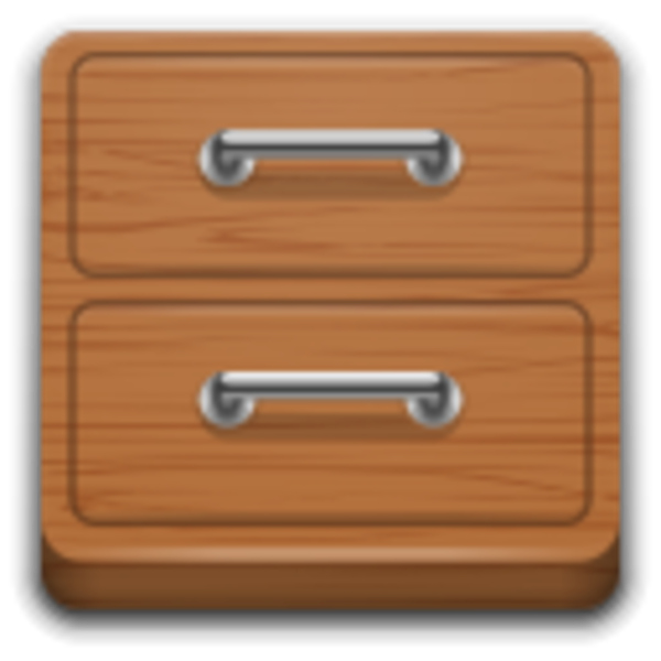 Folder clipart file management. Apps system manager icon
