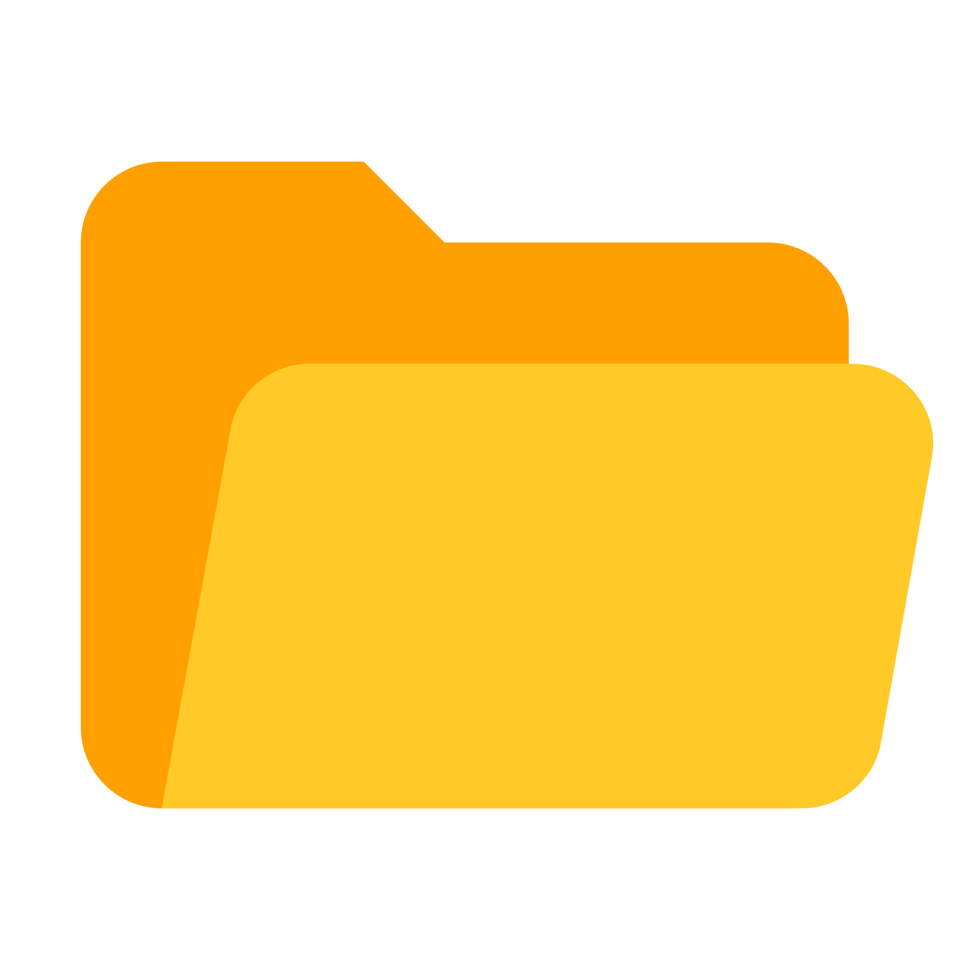 File icons opened svg. Folder clipart flat