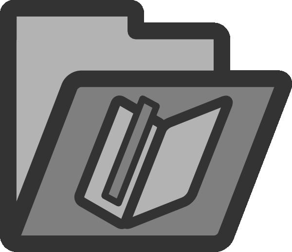 Folder clipart flat. Bookmark clip art at