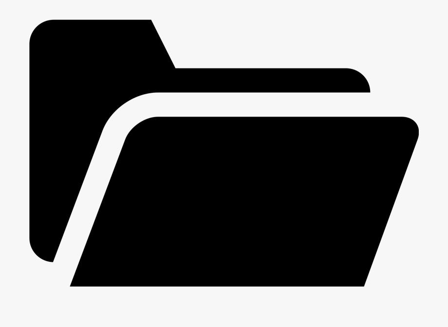 File simpleicons interface black. Folder clipart flat