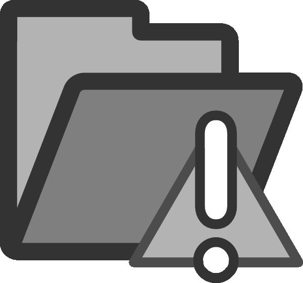 Important clipart public notice. Folder icon clip art