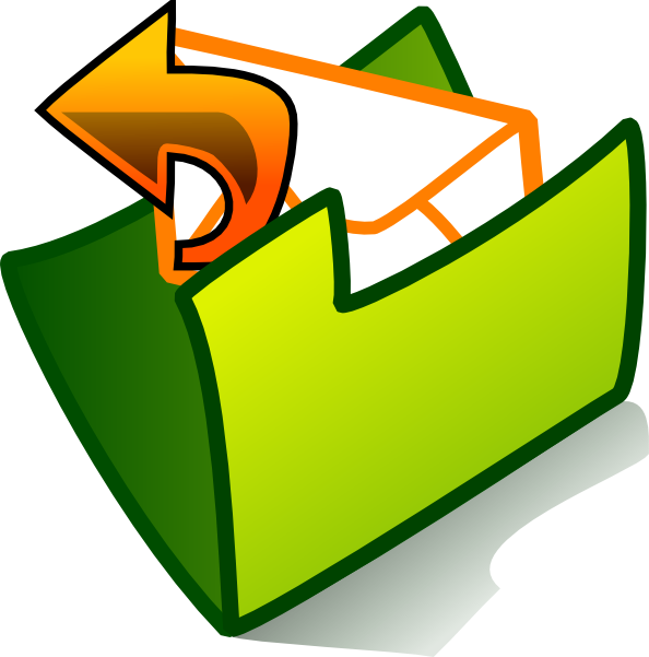 Folder clipart mailbox. Mail home pictures ideas