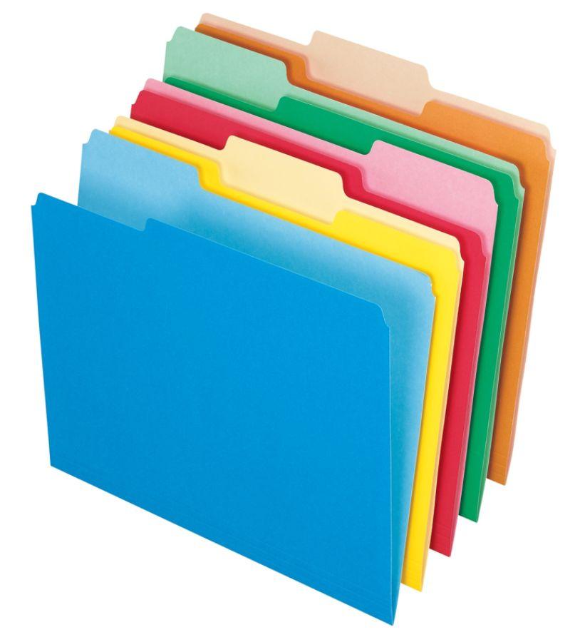 Office depot brand folders. Folder clipart organized file