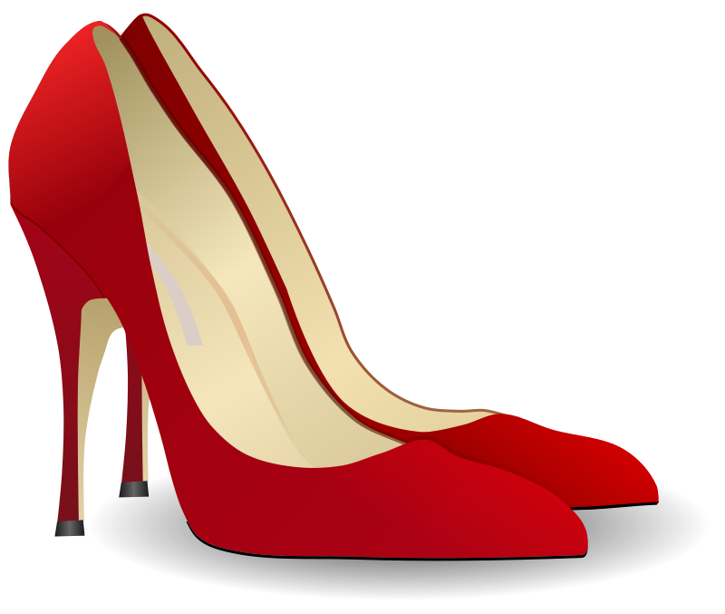 Free high heels people. Pink clipart stilettos