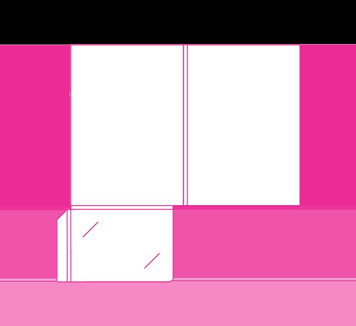 A template with business. Folder clipart pocket folder