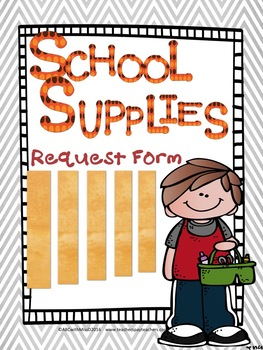 Folder clipart school form. Supply letter for parents