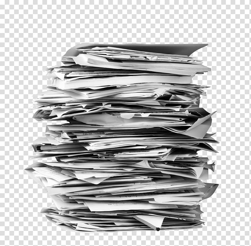 Pile of papers paper. Folder clipart stack folder