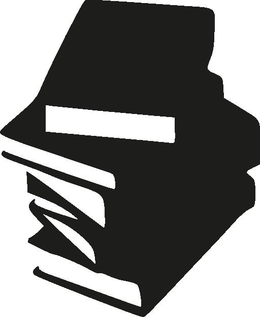 Folder clipart stacked. Stack of books i