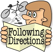 Does your child have. Follow directions clipart