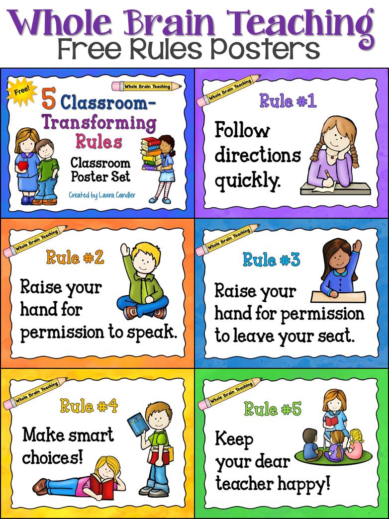 Teach clipart rule regulation. Whole brain teaching classroom