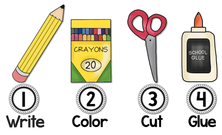 Follow directions clipart school. Visual direction cues for
