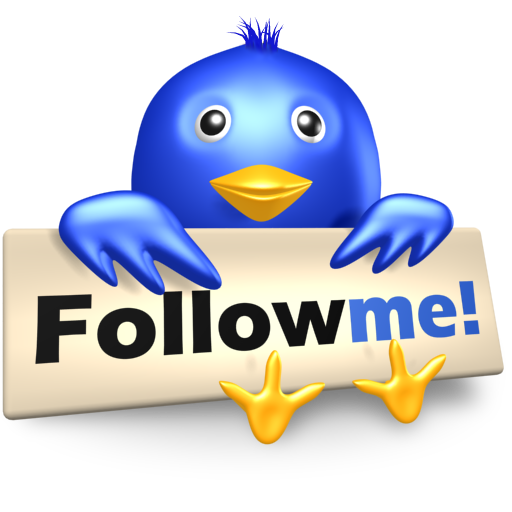 Follow me on twitter png. Free d social icons