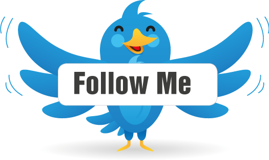 How to get a. Follow me on twitter png