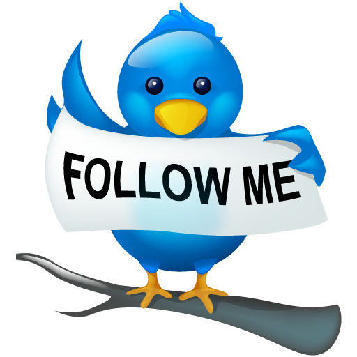 Follow me on twitter png. Free large icons by