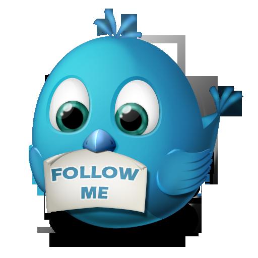 Follow twitter png. Birdies by arrioch animal