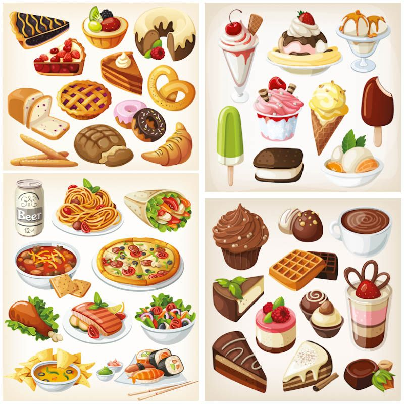 vector images graphics. Food clipart