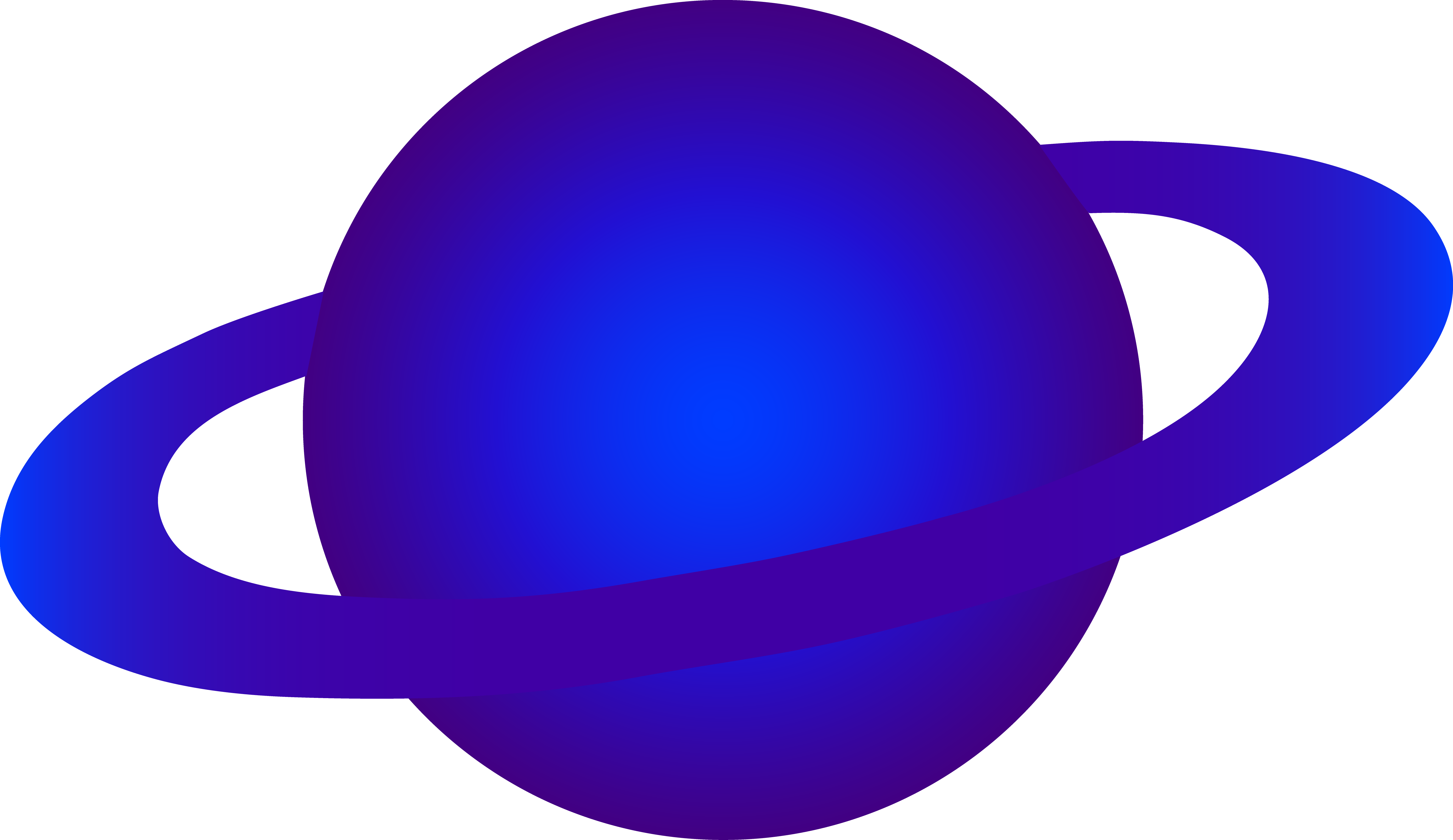 Planeten clipart bumi. Blue alien ringed planet