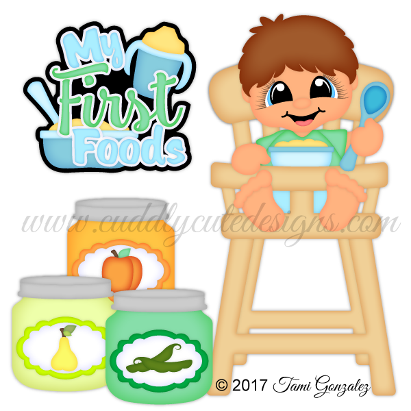 Babies my first boy. Foods clipart baby