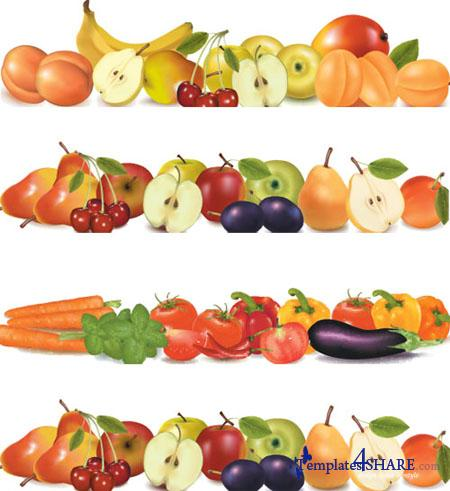 Foods clipart banner. Free food border cliparts