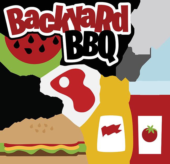 Backyard svg scrapbooking files. Foods clipart bbq