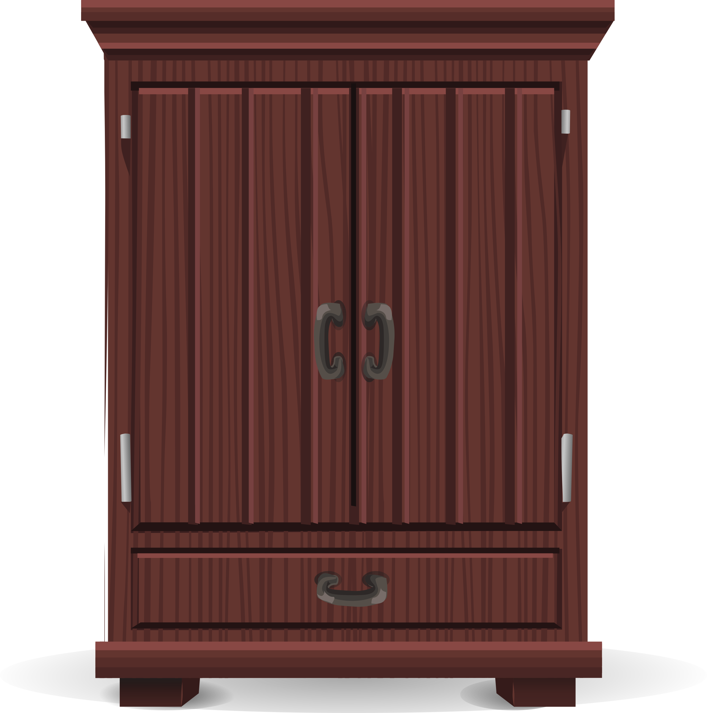 Pink clipart cabinet. Mahogany from glitch icons