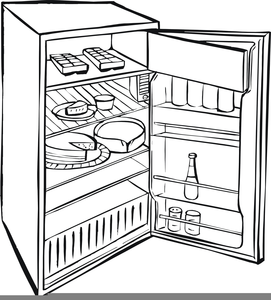 Free refrigerator images at. Fridge clipart lack food