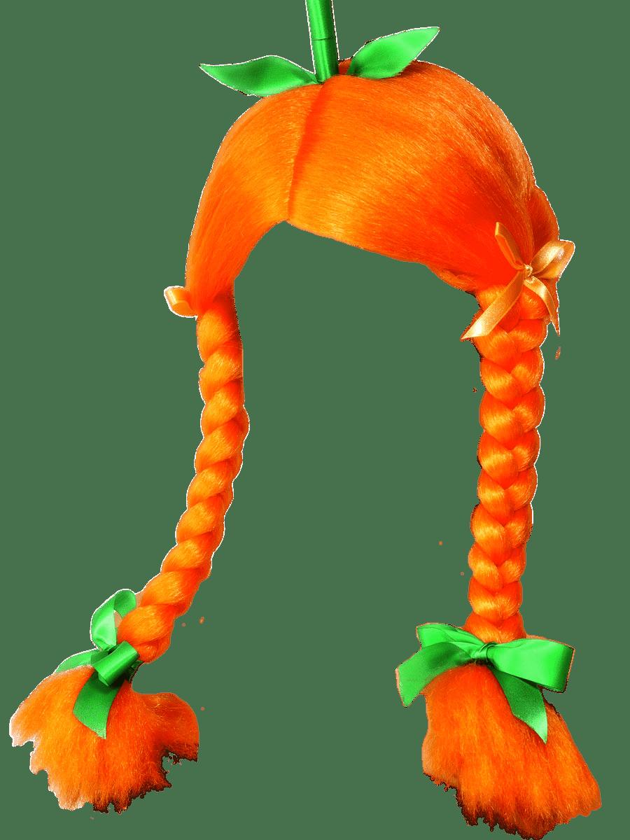 Wig pumpkin transparent png. Food clipart clothes