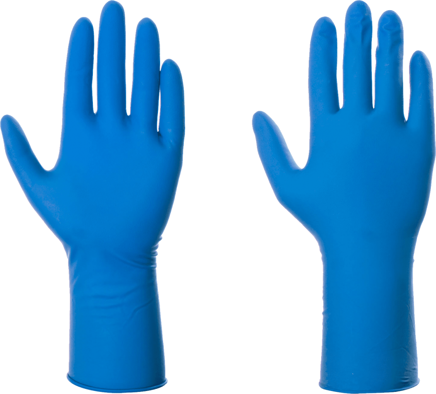 Blue gloves png free. Food clipart glove