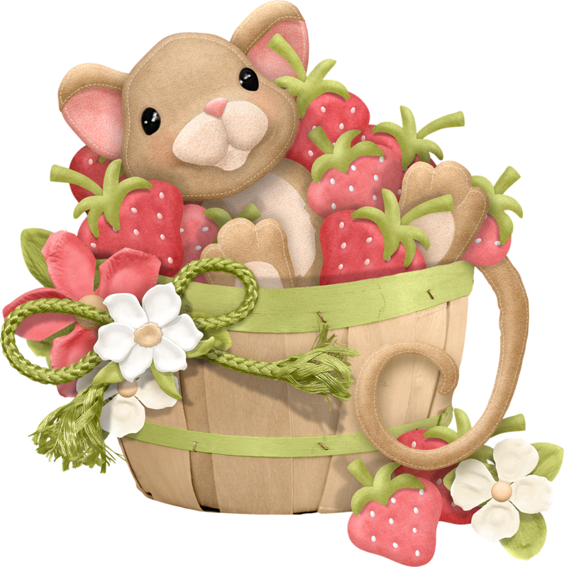 Coleccion so berry precious. Food clipart heart
