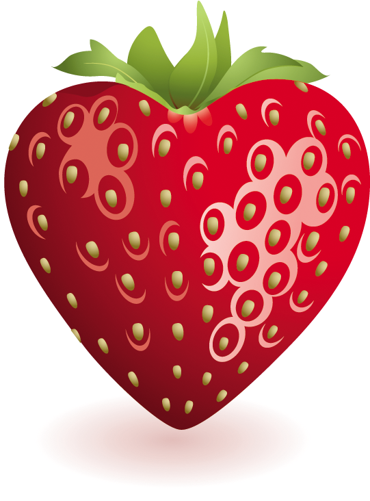 strawberries clipart strawberry leave #144473423