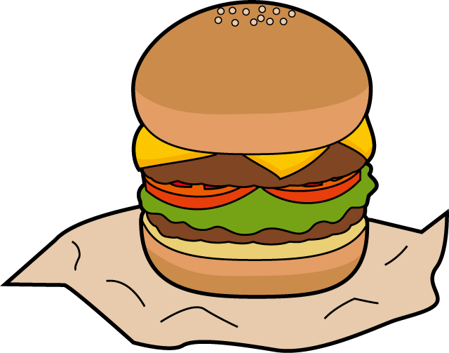 Top ten fast foods. Food clipart mineral