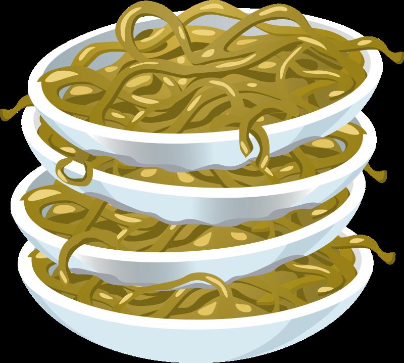 Noodles clipart noddles. Food fried medium image
