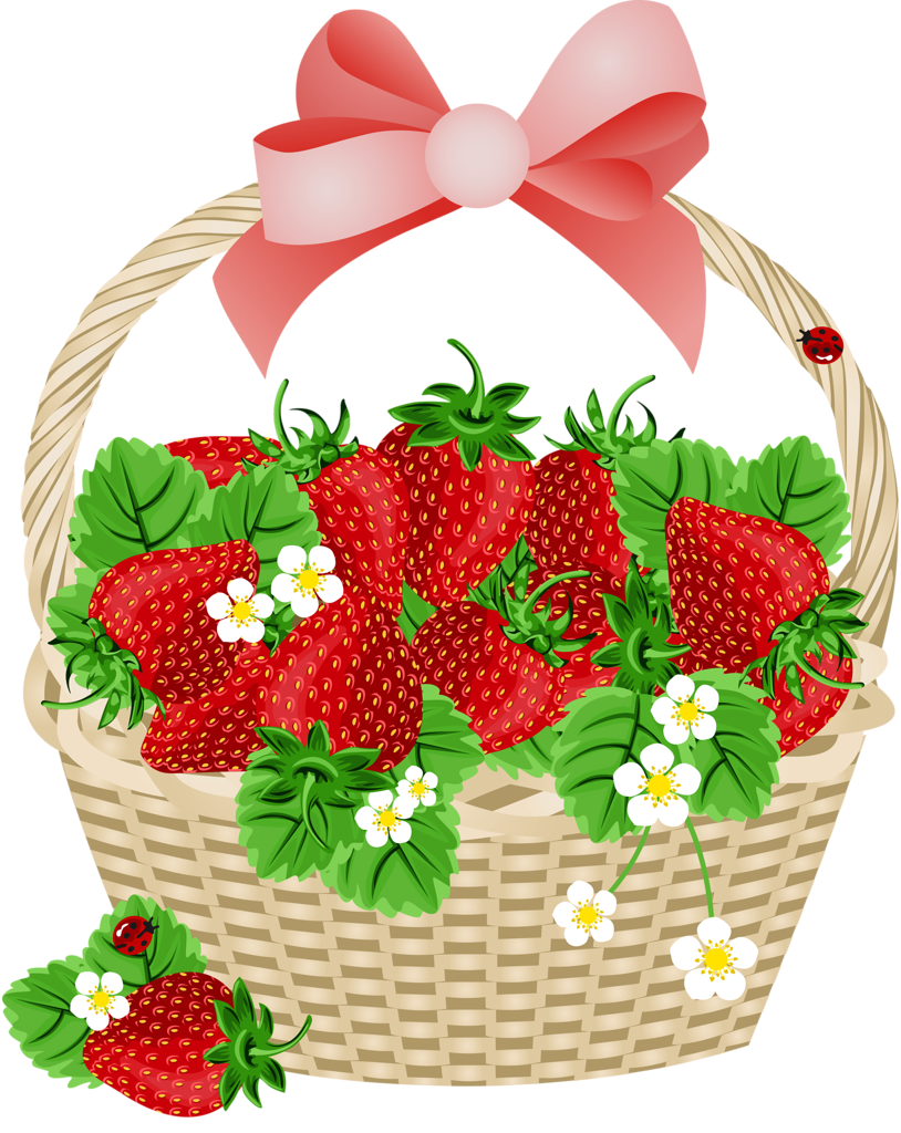Strawberries clipart printable.  png album food