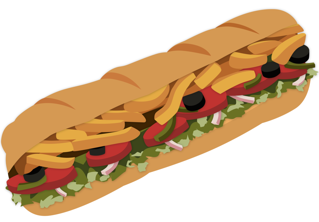 Food clipart sandwich. Subway by magicalmicrowaveoven on
