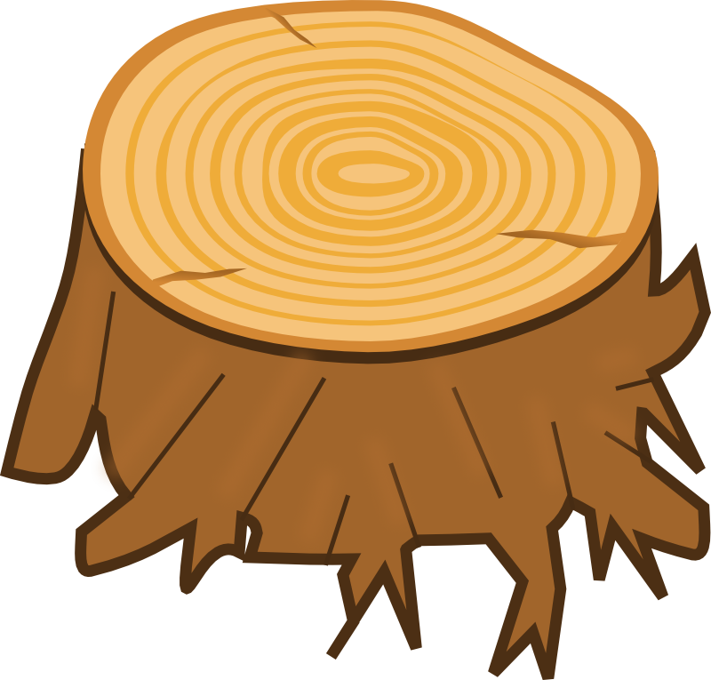 Food clipart stain. Trunk tree stump clip