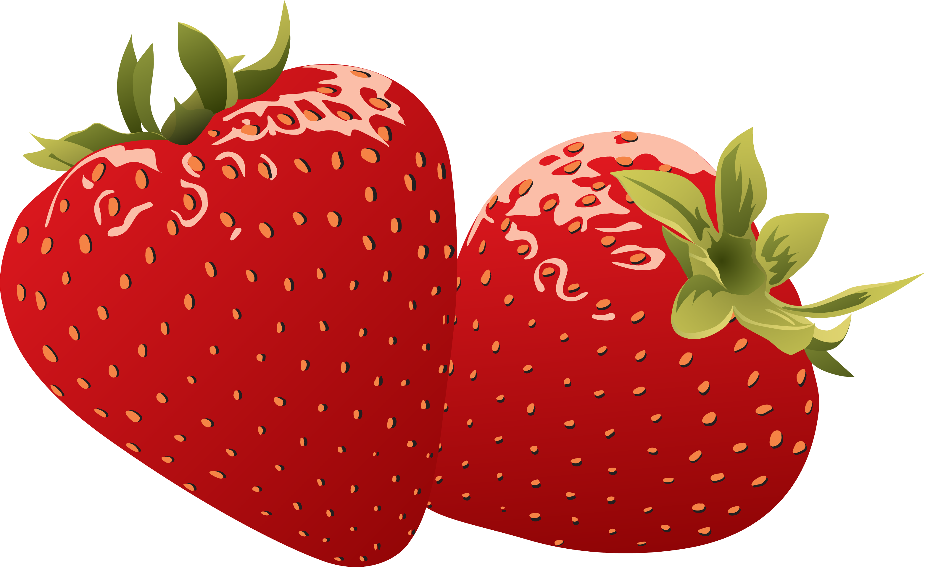 strawberries clipart face #144459164
