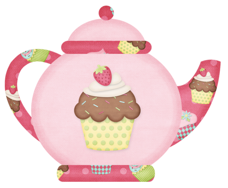 Have tea whith me. Food clipart time