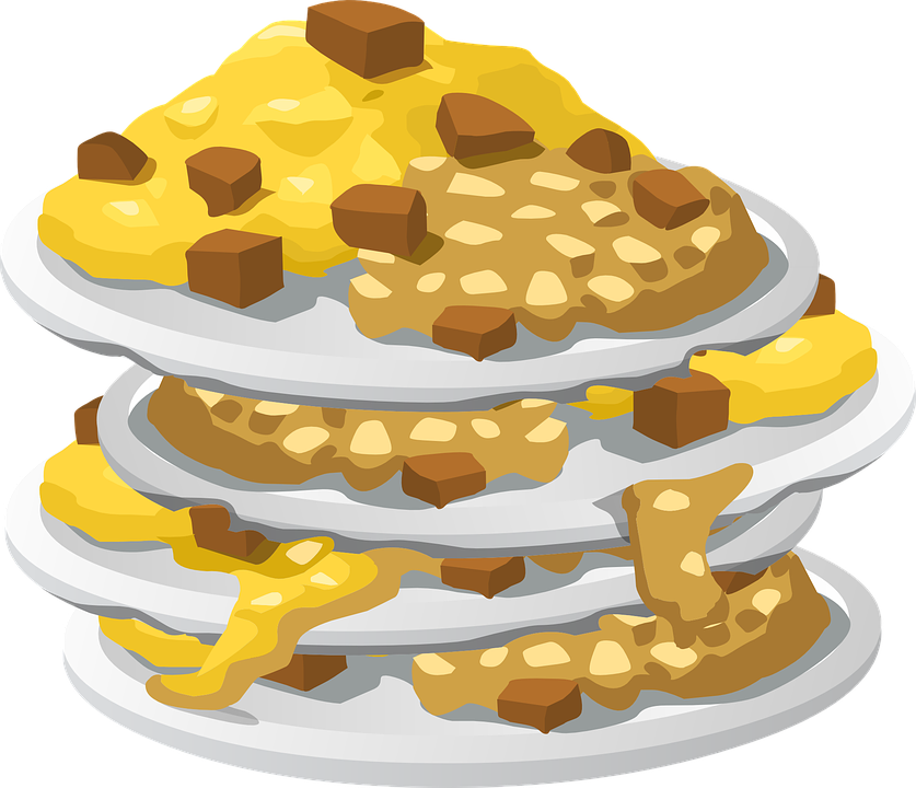 Food clipart vector. Stacks of can collection