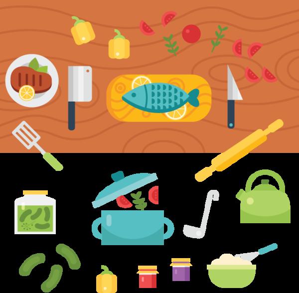kitchen clipart food