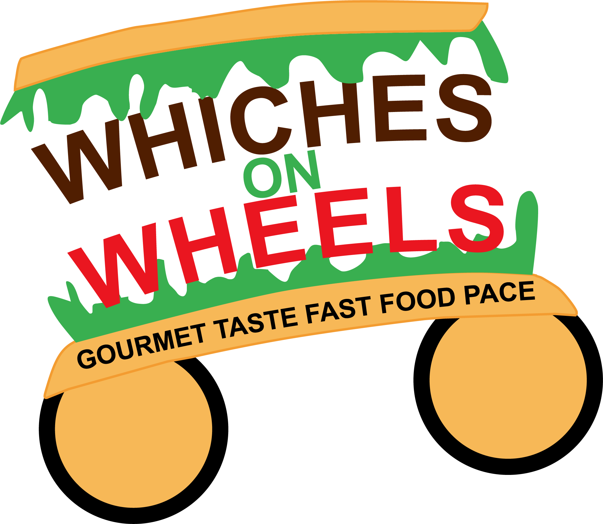Whiches on wheels truck. Wheel clipart food