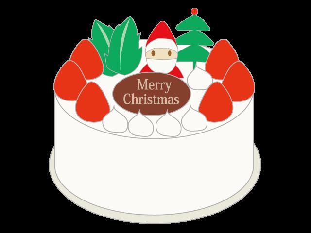 Christmas cake santa winter. January clipart season