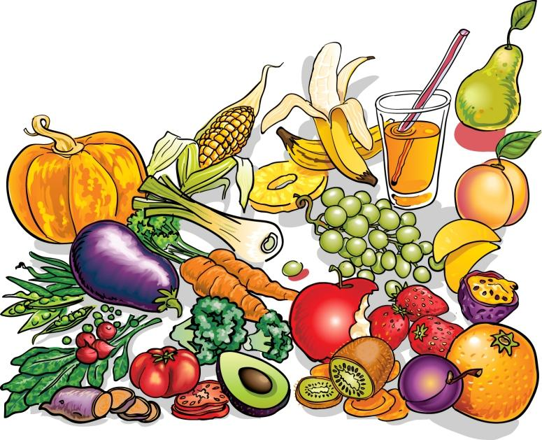 collection of glow. Health clipart nutritional food