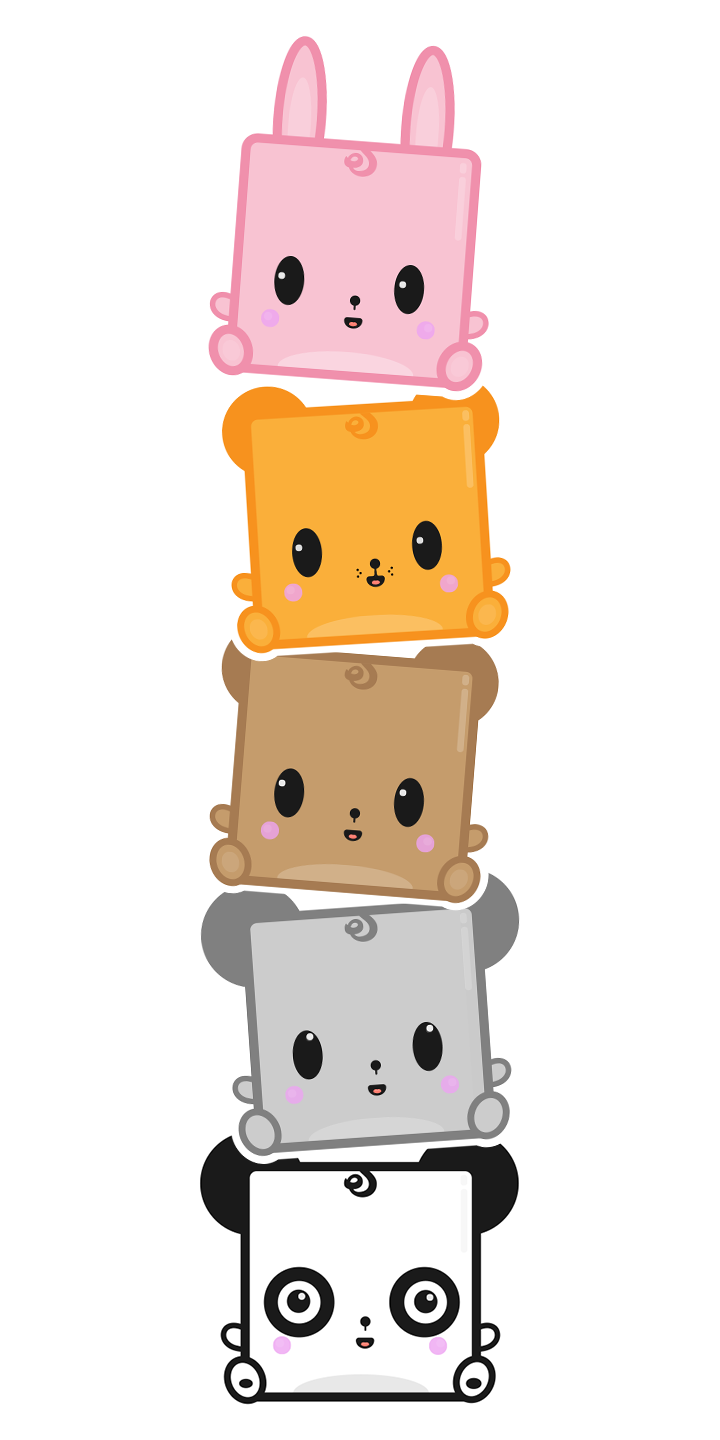 Foods clipart adorable. Cute kawaii stickers imessage